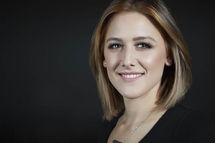 Professional Headshot with dark background